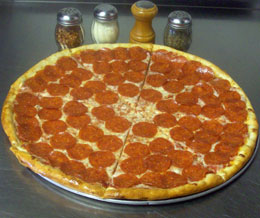 Turkey Italian Sausage, Pepperoni, Mushroom, Olive, And Jalapeno Pizza ...